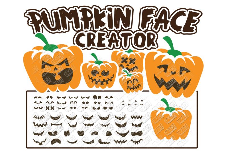 Download Free Pumpkin Face Svg Halloween In Svg Dxf Png Jpg Eps Crafter File