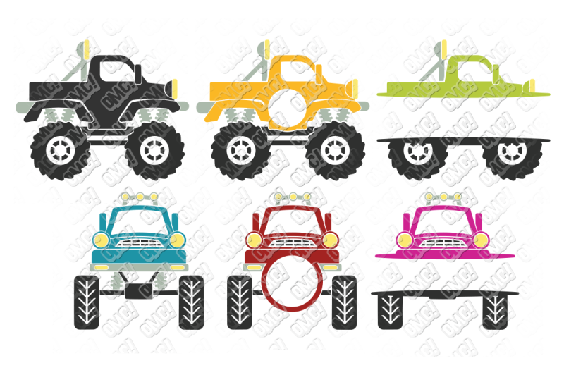 Free Monster Truck Svg Bundle In Svg Dxf Png Eps Jpeg Crafter File The Big List Of Places To Download Free Svg Cut Files
