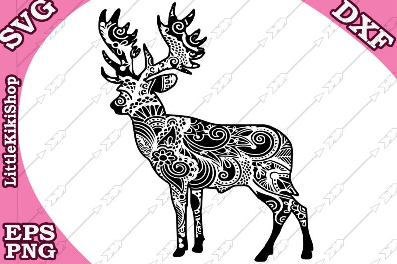 Free Zentangle Deer Svg Mandala Deer Svg Zentangle Animal Svg Crafter File Download Best Free 15215 Svg Cut Files For Cricut Silhouette And More