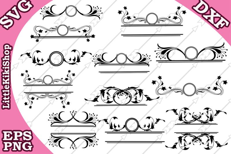 Free Flourish Monogram Svg Flourish Frame Svg Swirl Border Svg Crafter File The Best Free Svg Files For Cricut Silhouette Free Cricut Images Craft