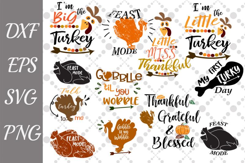 Free Thanksgiving Bundle Svg Bundle Turkey Svg Bundle Svg Crafter File 20136 Free Svg Files For Cricut Silhouette And Brother Scan N Cut