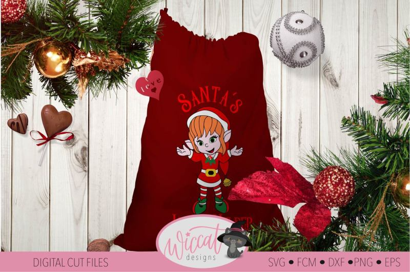 Free Christmas Girl Elves Svg Christmas Elf Svg Santa S Little Helper Svg Crafter File Free Svg Files Download