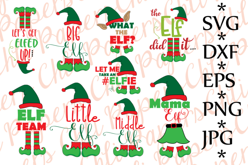 Free Bundle Elf Svg Christmas Bundle Svg Crafter File Download Free Svg Files For Silhouette Cameo And Cricut