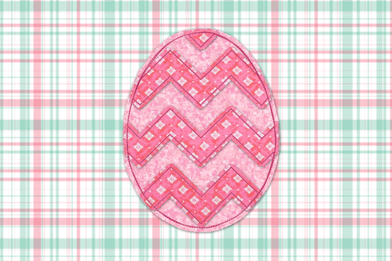 Chevron Easter Egg Raggy Applique Embroidery Scalable Vector Graphics Design Free Download Svg Files Cowgirl