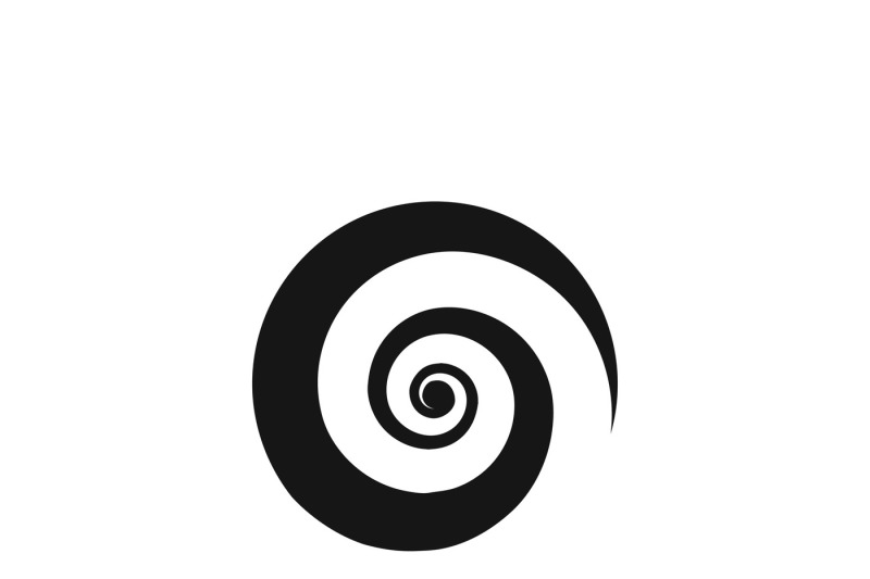 Spiral Icon Vector By Microvector Thehungryjpeg Com