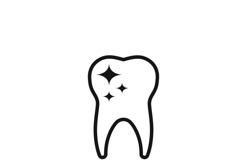 Tooth Care And Dental Cleaning Vector Icon By Microvector