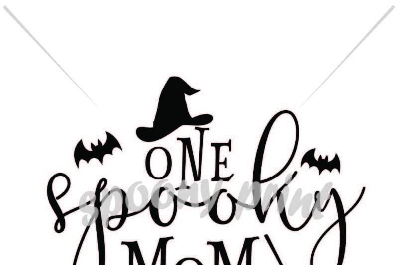 one spooky mom Design - Free Disney SVG Files for Cricut