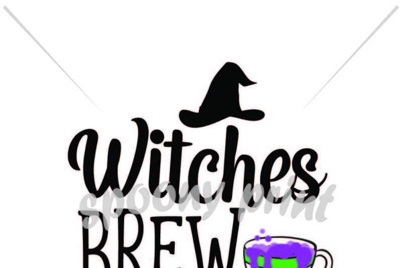 Witches Brew Design Free Svg Files For Cricut