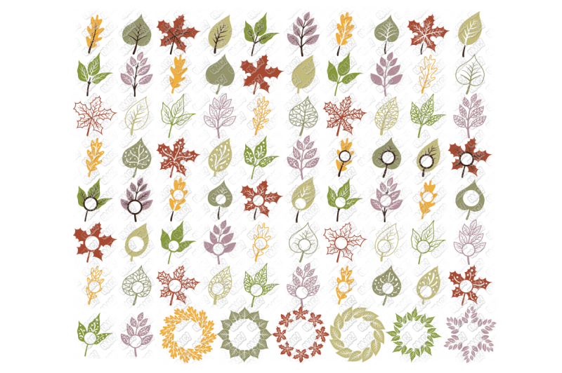 Free Leaf Svg Fall Leaves Autumn In Svg Dxf Png Eps Jpeg Crafter File