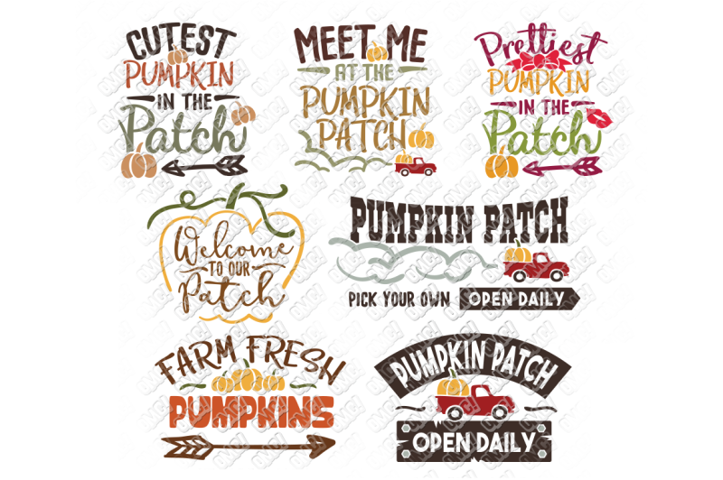 Free Pumpkin Patch Svg Thanksgiving In Svg Dxf Png Eps Jpeg Crafter File Download Free Svg Files