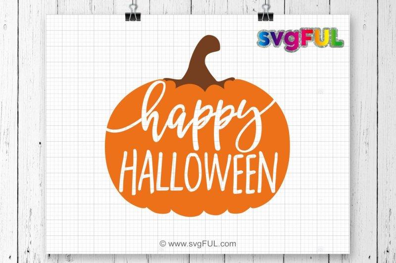 Free Happy Halloween Svg Pumpkin Svg Fall Pumpkin Svg Halloween Svg Free Beach Svg Cut Files