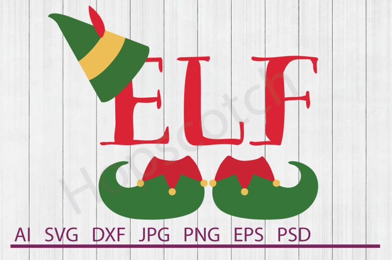 Elf Svg Elf Dxf Cuttable File Design Free Cloud Icon Svg