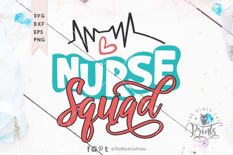 Free Nurse Squad Svg Dxf Eps Png Svg Badge Svg Icon Free