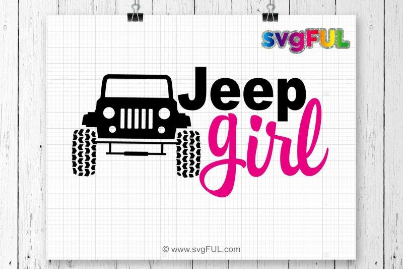 Free Jeep Girl Svg, Jeep Svg, SVG Files, Cricut Cut Files ...