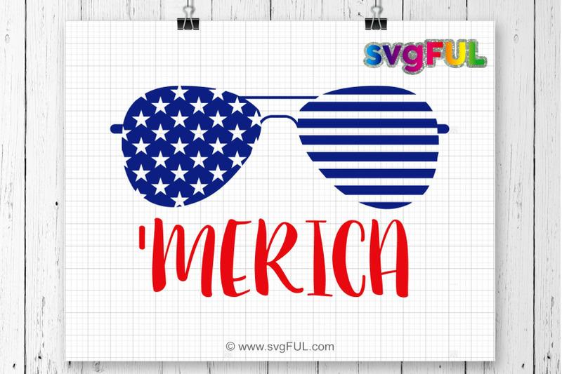 Svg Merica Svg Fourth Of July Svg 4th Of July Svg Patriotic