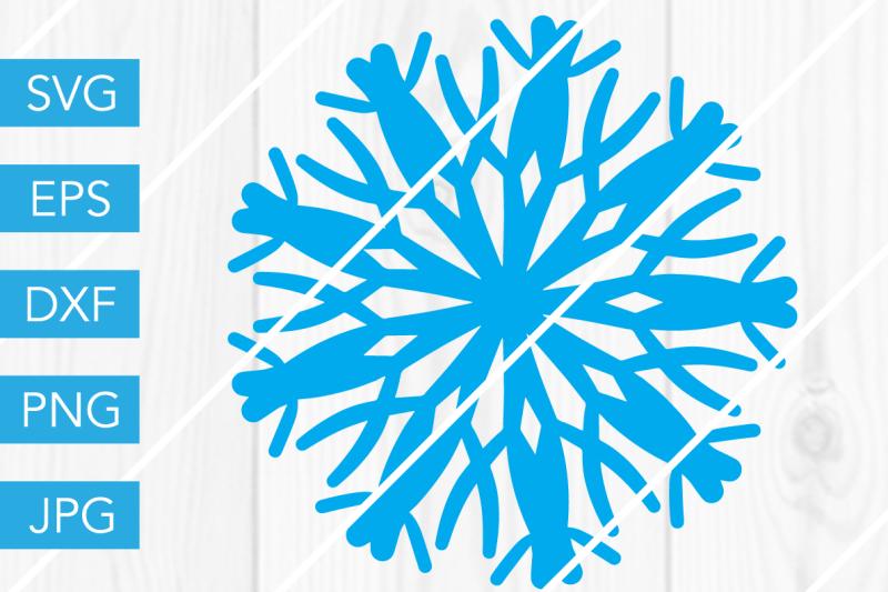 Snowflake Svg Snow Dxf Eps Png Jpg Cut File Scan N Cut Snowflake