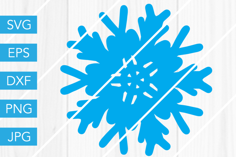 Free Snowflake Svg Snow Dxf Eps Png Jpg Cut File Cricut Silhouette Cameo Crafter File