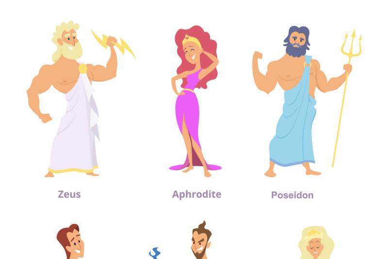 что богини древней греции картинки имена экспозиции музея представлена