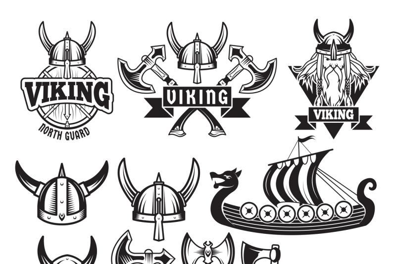 34 Label A Viking Longship - Labels Design Ideas 2020