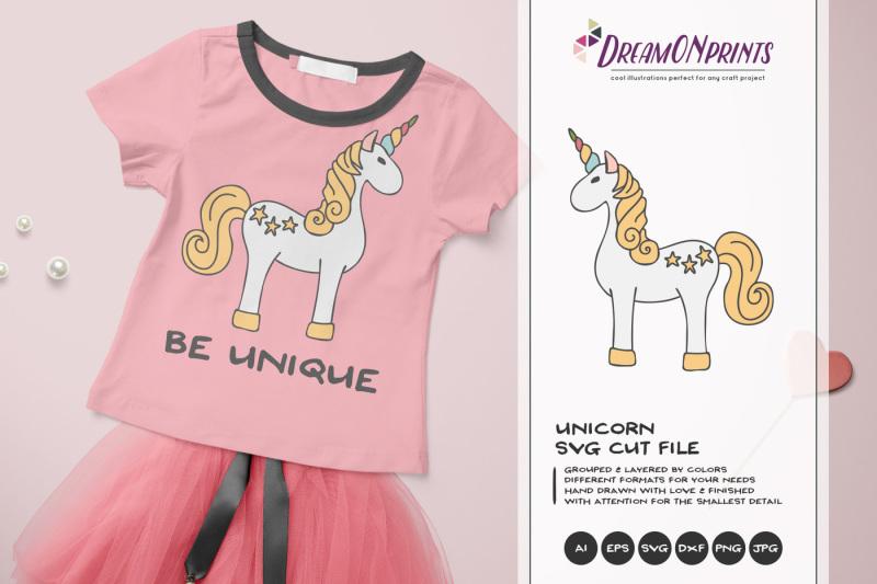 Unicorn Svg Cut File By Dreamonprints Thehungryjpeg Com