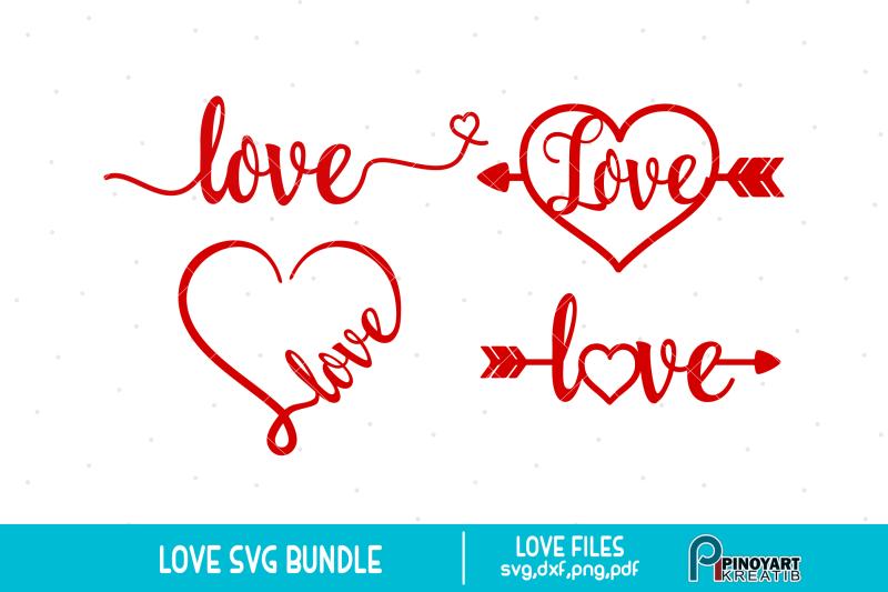 Download Love svg Bundle, Love svg, Heart svg, Valentine Heart svg ...