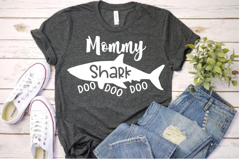 Mommy Shark Svg Doo Doo Doo Mother S Day Mom Sea World Family