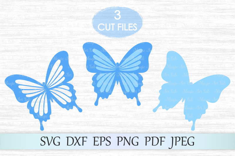 Butterfly Svg Butterflies Svg File Butterfly Wall Decor By