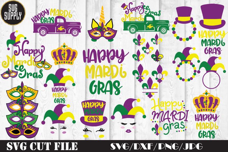 Mardi Gras Bundle Svg Cut File By Svgsupply Thehungryjpeg Com