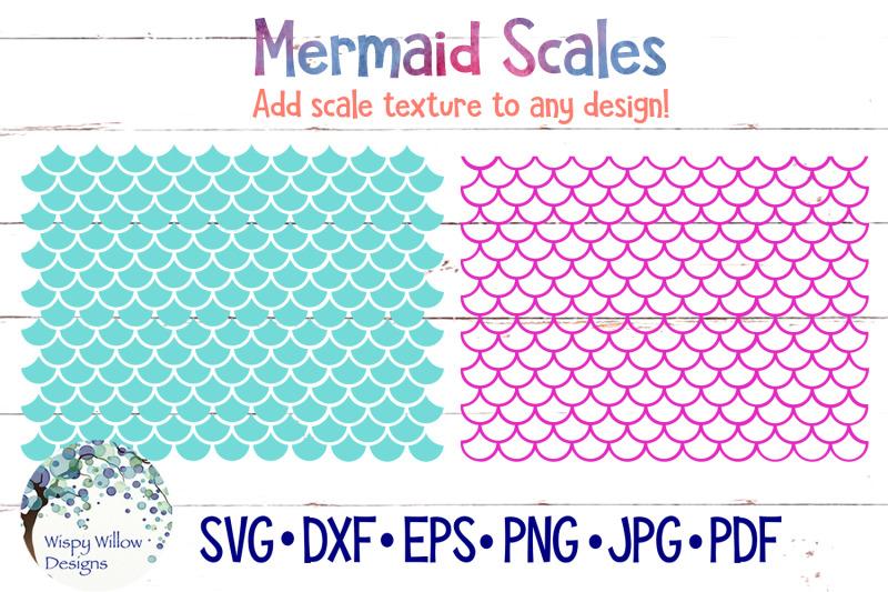 Mermaid Scale SVG Bundle By Wispy Willow Designs