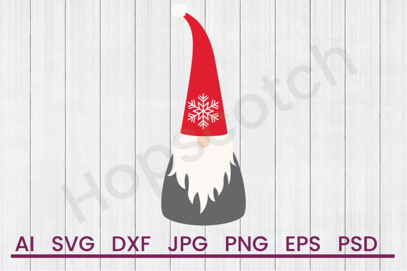 Christmas Gnomes Svg.Tomte Scandi Christmas Gnome Svg File Dxf File By