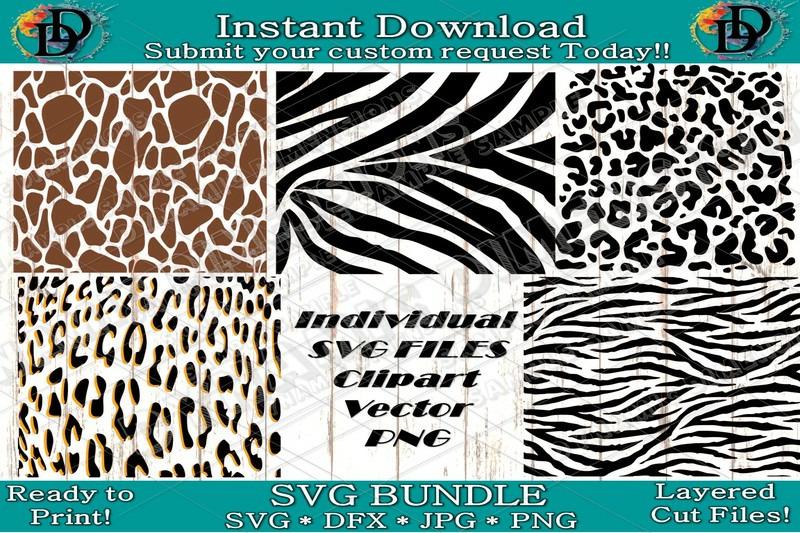 Leopard Svg Zebra Print Svg Animal Print Svg Print Svg Pattern Svg Cut By Dynamic Dimensions Thehungryjpeg Com