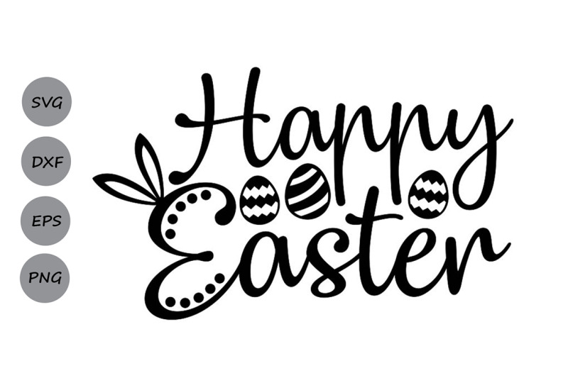 Happy Easter Svg Easter Svg Jesus Svg Easter Bunny Svg By