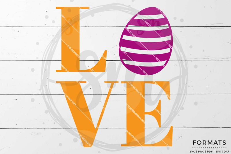 Easter Love Svg Files For Cricut By Scribblemoma Graphics