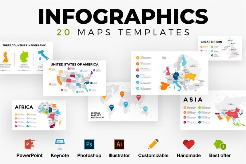 Australia Map Template.20 Infographics World Map Template Europe Usa Canada Australia