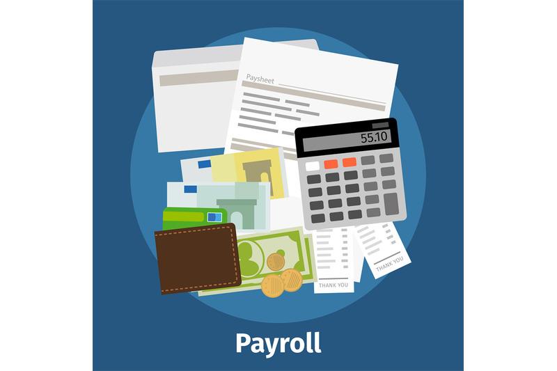 Invoice sheet, paysheet or payroll icon By SmartStartStocker