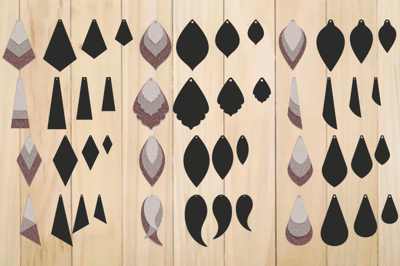 Leather Earrings Earrings Svg Teardrop Earrings Earrings