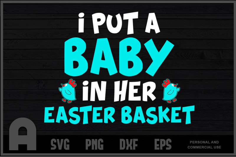 Funny Pregnancy Announcement Dad Easter Baby Announcement T Shirt