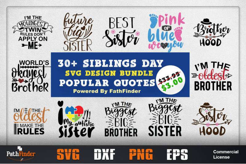 Sibling S Day Svg Design Bundle Sibling Shirts Sibling S