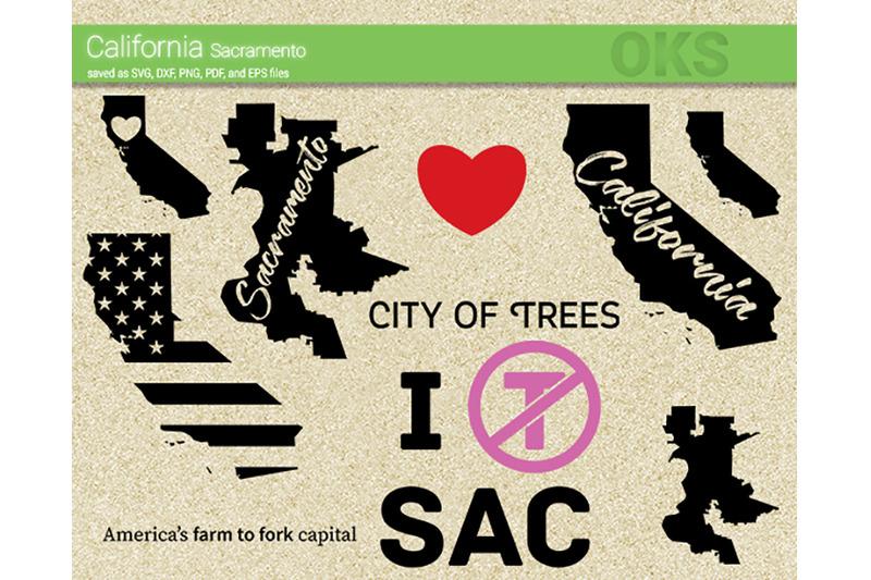 California vector. Svg sacramento files clipart