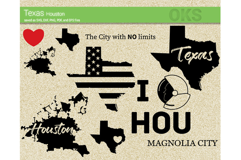 Texas Svg Houston Svg Files Vector Clipart Cricut Download By