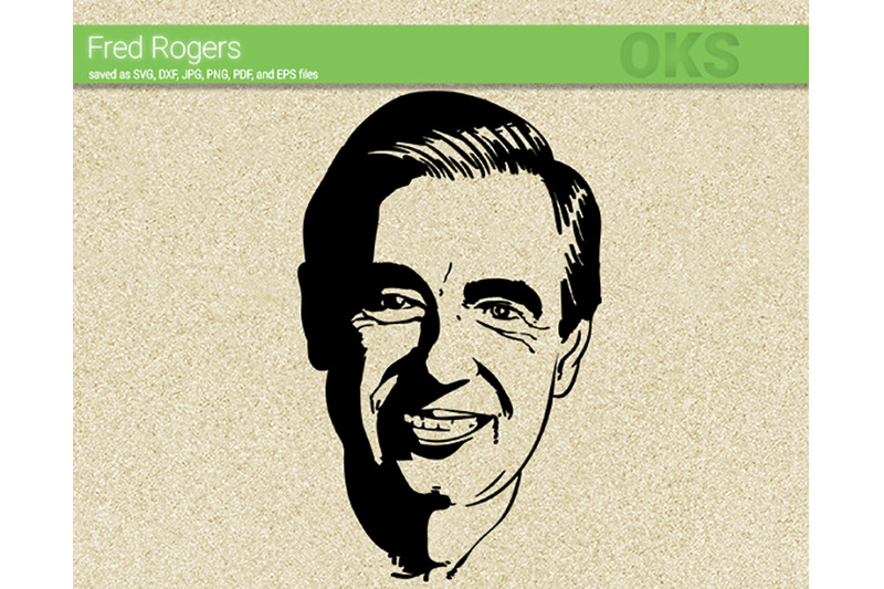Fred Rogers Svg Svg Files Vector Clipart Cricut Download By
