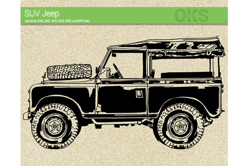 Cricut Jeep Logo Svg
