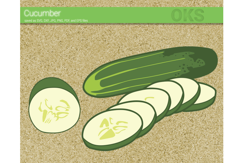Cucumber Svg Svg Files Vector Clipart Cricut Download By