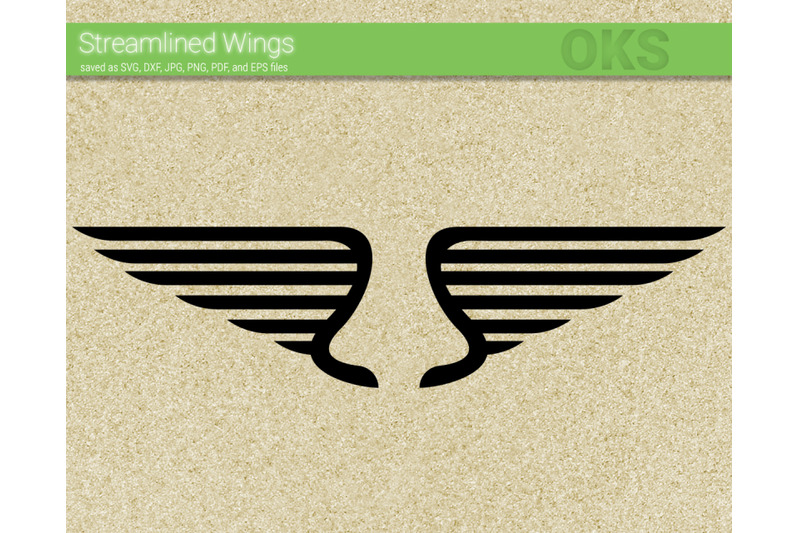 Modern Wings Svg Svg Files Vector Clipart Cricut Download By