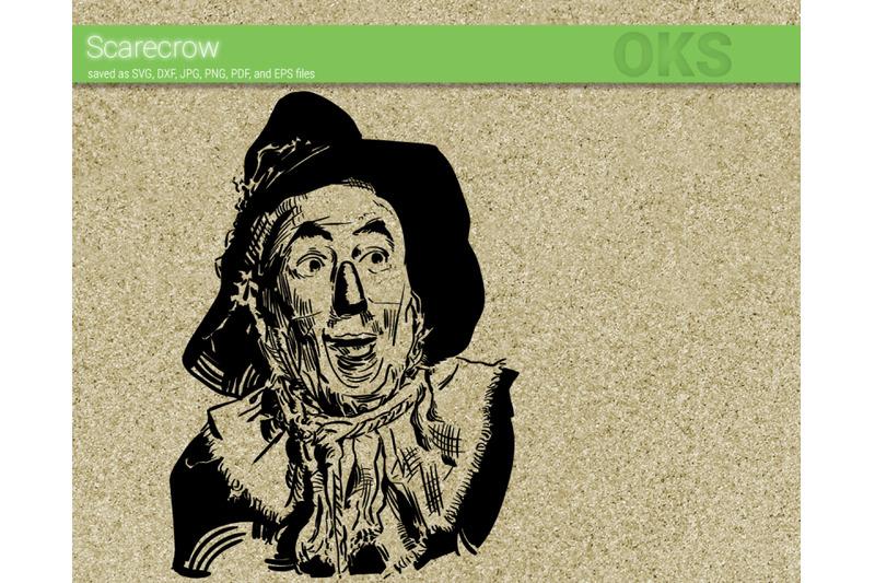 scarecrow svg  wizard of oz svg files  vector  clipart