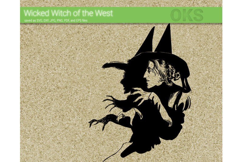 wicked witch svg  wizard of oz svg files  vector  clipart