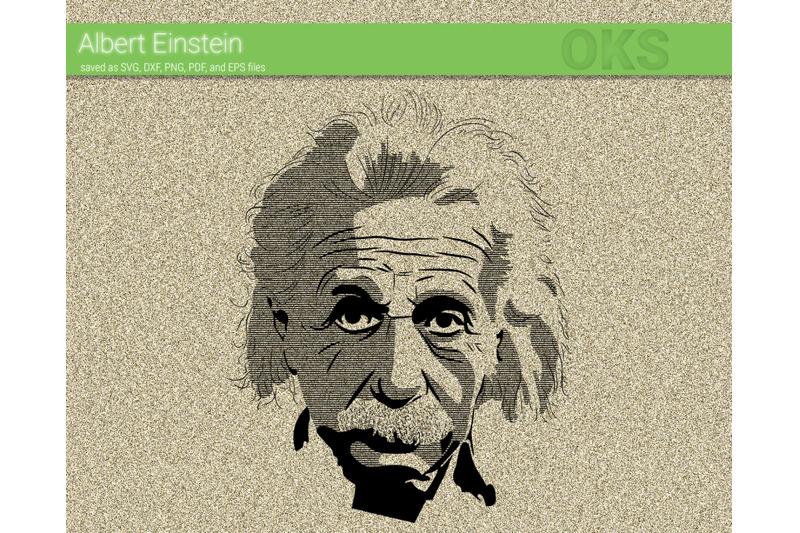 Albert Einstein Svg Svg Files Vector Clipart Cricut Download