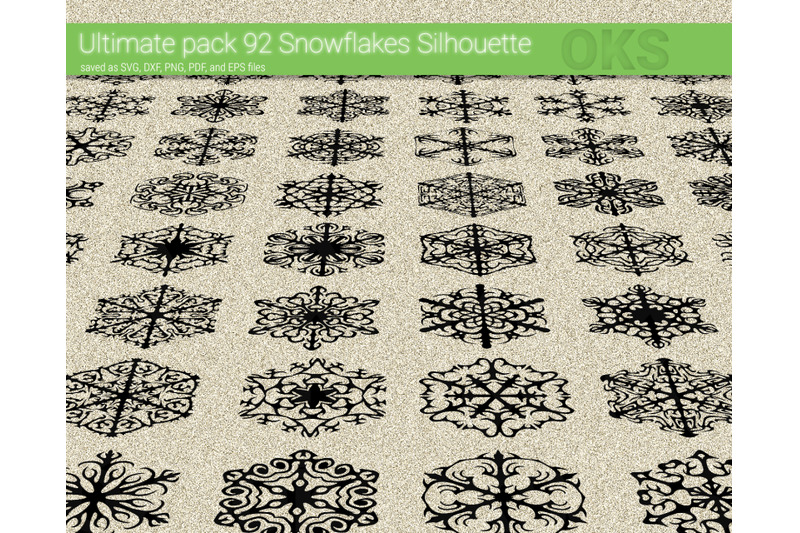 Snowflakes Svg Svg Files Vector Clipart Cricut Download By Crafteroks Thehungryjpeg Com