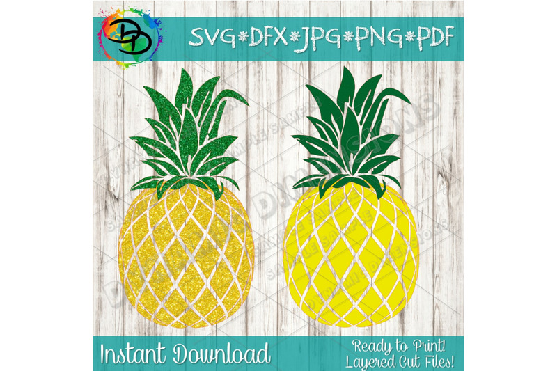 graphic relating to Pineapple Printable known as Pineapple SVG, Pineapple clipart, pineapple printable