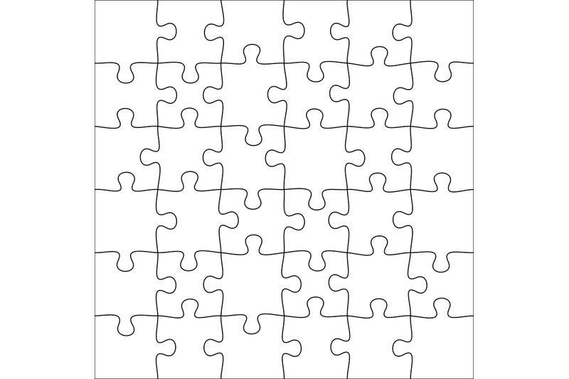 Jigsaws Puzzles Square Puzzle 6x6 Grid Jigsaw Game And Join 36